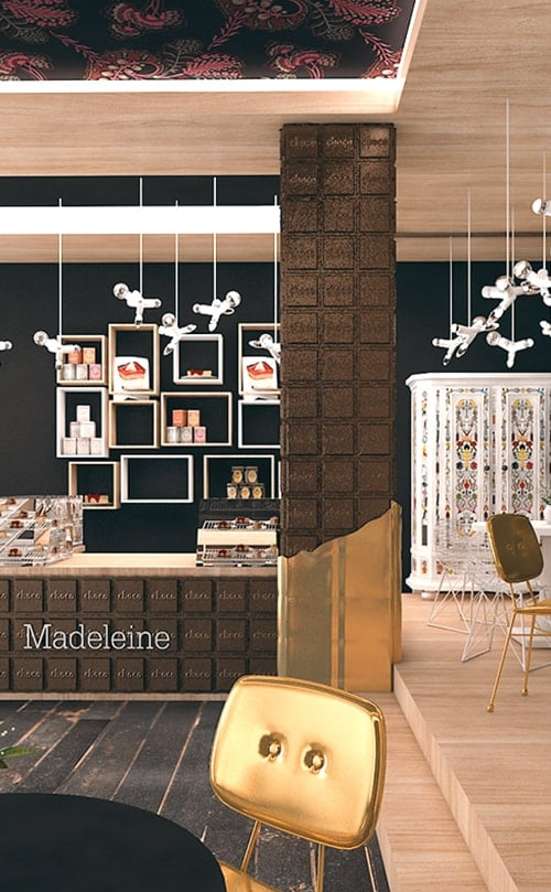 Madeleine Sweetshop interior design