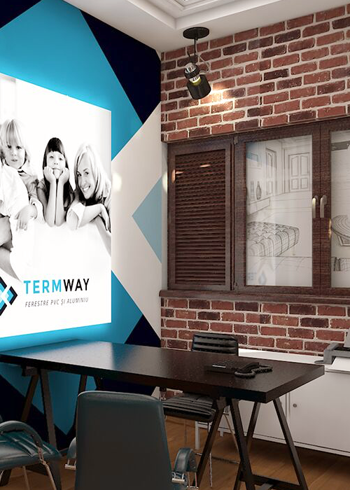 amenajare showroom Termway