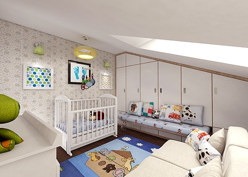 interior design for new born room