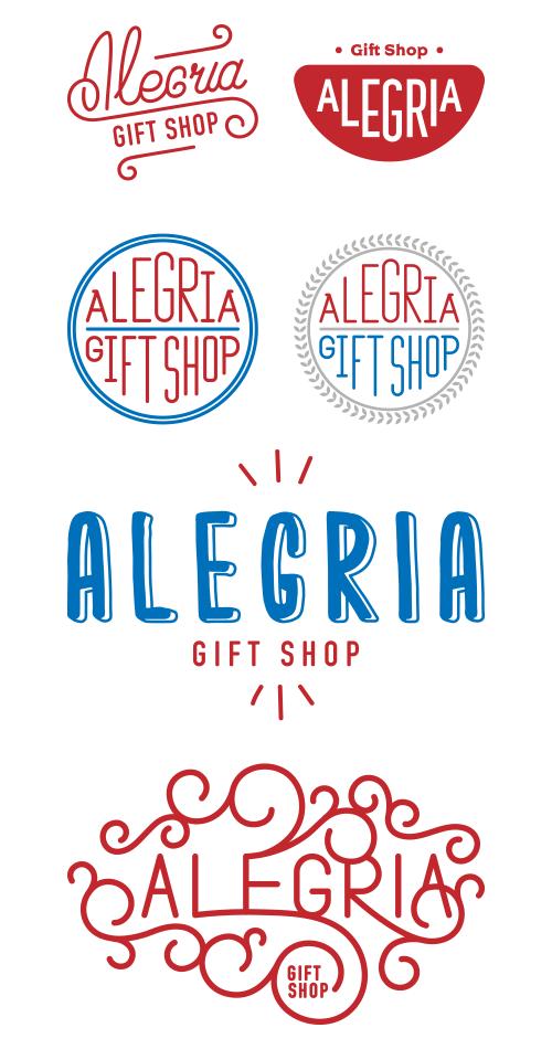logo Alegria Gift Shop