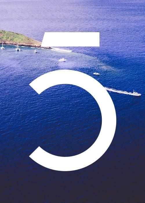 oceans5 identity