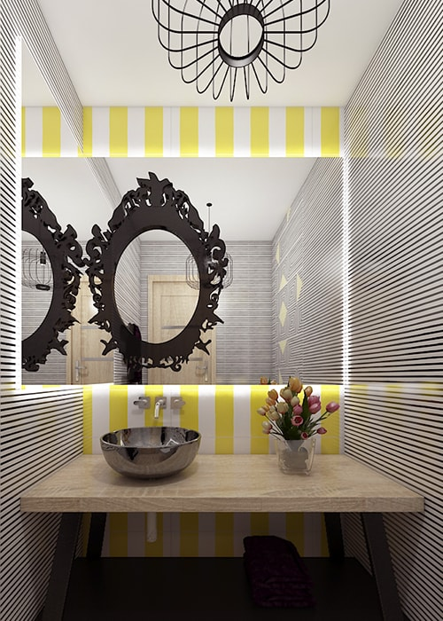 service bathroom interior design